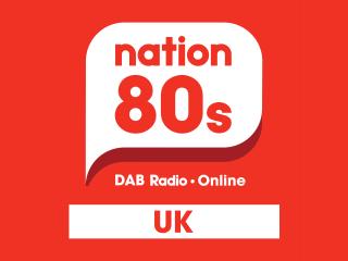 Nation Radio 80s 320x240 Logo